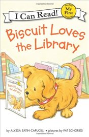 Biscuit Loves the Library (I Can Read – Shared My First Reading) - Capucilli, Alyssa Satin