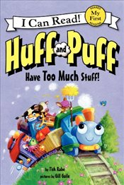 Huff and Puff Have Too Much Stuff! (I Can Read – Shared My First Reading) - Rabe, Tish