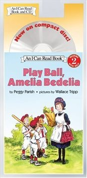 Play Ball, Amelia Bedelia Book and CD (I Can Read - Level 2) - Parish, Peggy