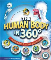 Human Body in 360 Degrees : Explored in 5 Virtual Journeys (Book & DVD) - Walker, Richard