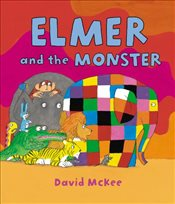Elmer and the Monster - McKee, David