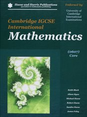 Cambridge IGCSE International Mathematics 0607 Core + CD - Black, Keith