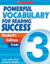 Powerful Vocabulary for Reading Success: Student Workbook, Grade 3 - Scholastic,