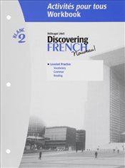 Discovering French Blanc 2 Activites Pour Tous Workbook [With Lesson Review Bookmarks] - Valette, Jean-Paul