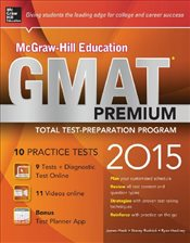 McGraw-Hill Education GMAT Premium, 2015 Edition - Hasik, James