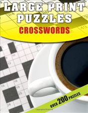 Large Print Puzzles: Crosswords - Moore, Gareth