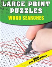 Large Print Puzzles : Word Searches - Moore, Gareth