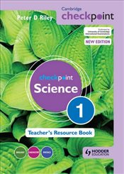 Cambridge Checkpoint Science Teachers Resource Book 1 (Cambridge Secondary) - Riley, Peter