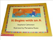 It Begins with an A - Calmenson, Stephanie