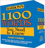1100 Words You Need to Know Flashcards - Gordon, Melvin