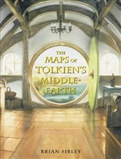 Maps of Tolkiens Middle-earth: Special Edition - Sibley, Brian
