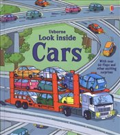 Look Inside Cars (Usborne Look Inside) - Jones, Rob Lloyd