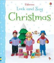 Look and Say: Christmas (Usborne Look and Say) - Brooks, Felicity