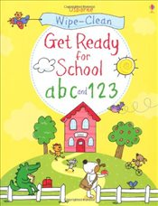 Wipe-clean Get Ready for School ABC and 123 - Taplin, Sam