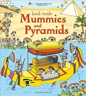 Look Inside Mummies and Pyramids - Jones, Rob Lloyd