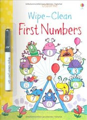 Wipe-Clean First Numbers - Greenwell, Jessica