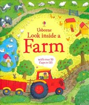 Look Inside a Farm (Usborne Look Inside) - Daynes, Katie