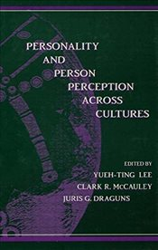 Personality and Person Perception Across Cultures - Lee, Yueh-Ting