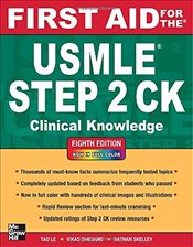 First Aid for the USMLE Step 2 CK 8e - Le, Tao
