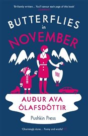 Butterflies in November - Olafsdottir, Audur Ava