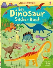 Big Dinosaur Sticker Book - Watt, Fiona