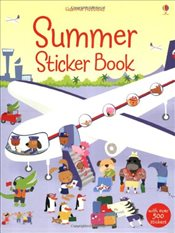 Summer Sticker Book (Usborne Sticker Books) - Watt, Fiona
