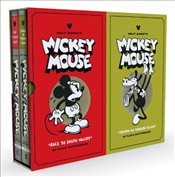 Walt Disneys Mickey Mouse Vol. 1 & 2 Box Set - Gottfredson, Floyd