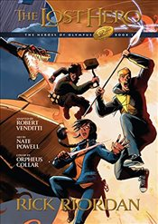 Lost Hero : Heroes of Olympus Graphic Novels - Venditti, Robert