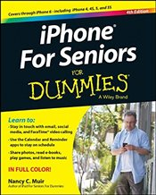 iPhone for Seniors For Dummies   - Muir, Nancy C.