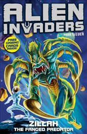 Alien Invaders 3 : Zillah - The Fanged Predator - Silver, Max