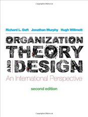 Organizational Theory and Design 2e : An International Perspective  - Daft, Richard L.