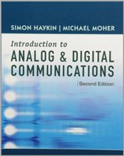 Introduction to Analog and Digital Communications 2E W+  - Haykin, Simon