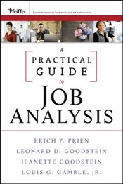 Practical Guide to Job Analysis - Prien, Erich P.