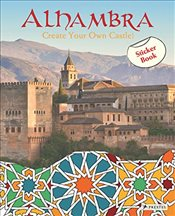 Alhambra : Create Your Own Palaces! Sticker Book - Krause, Maria