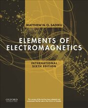 Elements of Electromagnetics 6e - Sadiku, Matthew