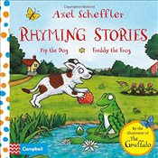 Axel Scheffler Rhyming Stories Book 1: Pip the Dog and Freddy the Frog -