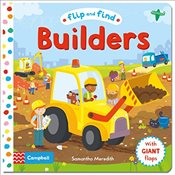 Flip and Find Builders: a guess who/where flap book about builders - Meredith, Samantha