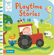 Playtime Stories: Babys first storybook: Follow the finger trails - Campbell Books