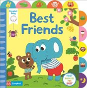 Little Tabs Best Friends: a little tab book for older babies about first phrases - Campbell Books