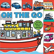 On the Go (Lift-the-Flap Tab Books) - Priddy, Roger