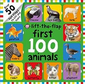 Lift-the-Flap First 100 Animals (First 100 Lift-the-Flap Books) - Priddy, Roger