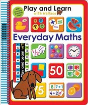 Play and Learn with Wallace Everyday Maths - Priddy, Roger