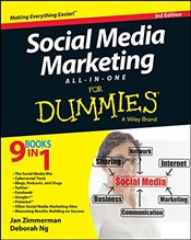 Social Media Marketing All-in-One For Dummies (For Dummies Series) - Zimmerman, Jan