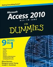 Access 2010 All-in-One For Dummies - Barrows, Alison