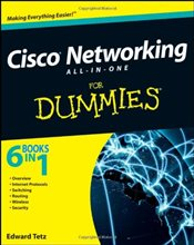Cisco Networking All-in-One For Dummies - Tetz, Edward