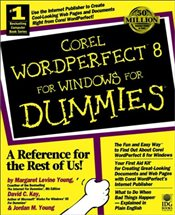 Wordperfect 8 for Windows For Dummies - Young, Margaret Levine
