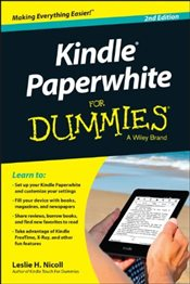 Kindle Paperwhite For Dummies - Nicoll, Leslie H.