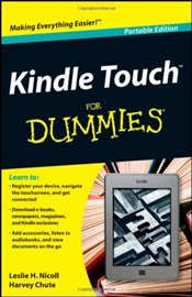 Kindle Touch For Dummies Portable Edition - Chute, Harvey