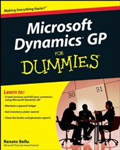 Microsoft Dynamics GP For Dummies - Bellu, Renato