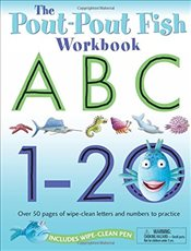 Pout-Pout Fish Wipe Clean Workbook ABC, 1-20 (Pout-Pout Fish Adventure) - Diesen, Deborah